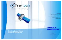 Diseño y Desarrollo de Sistemas Embebidos DEFENSA Y