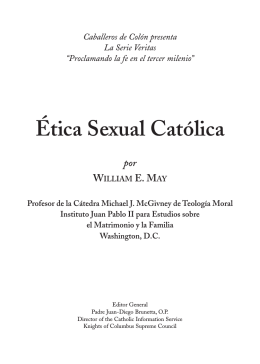 Ética Sexual Católica - Knights of Columbus, Supreme Council