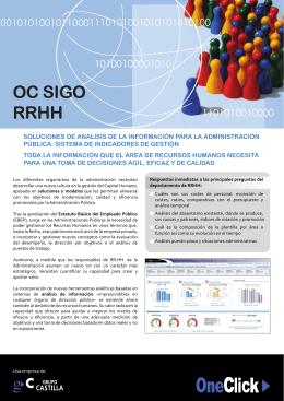 folleto OC SIGO RRHH