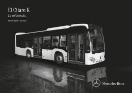 El Citaro K - Mercedes Benz España