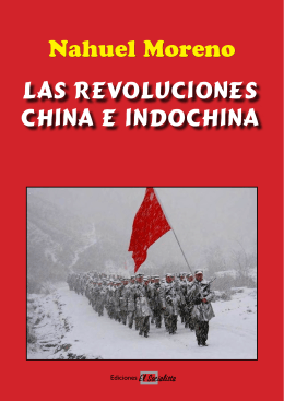 Nahuel Moreno Las Revoluciones China e Indochina