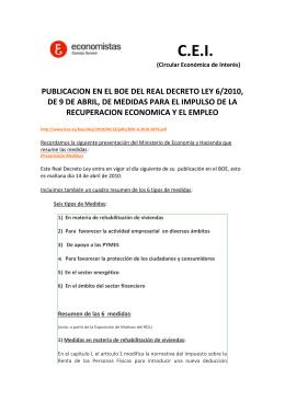 + Info - Colegio de Economistas de Alicante