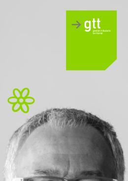 folleto de presentación