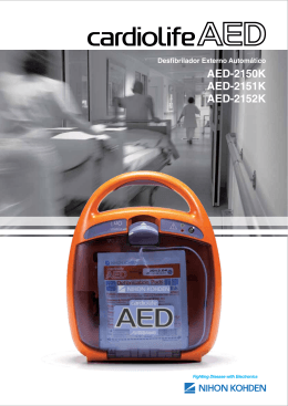 AED-2150K AED-2151K AED