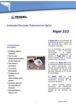 Rigel 322-folleto v.0707