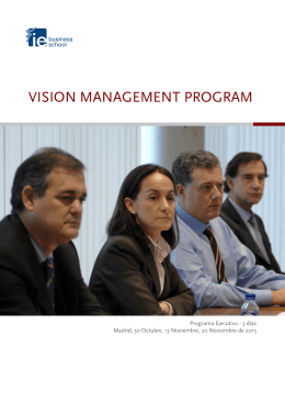Folleto_Vision_Management_Program_IEBusinessSchool