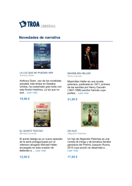 Descarga recomendaciones de Mayo 2015