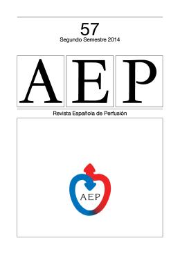 AEP 57 - Asociación Española de Perfusionistas