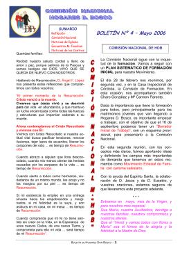 BOLETÍN Nº 4 – Mayo 2006 - Salesianos Cooperadores