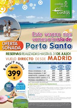 Porto Santo 399 - Costas Galicia