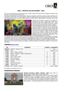holi – festival de los colores – 2014
