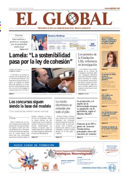 """Lamela: """"La sostenibilidad pasa por la ley de cohesión"""""""