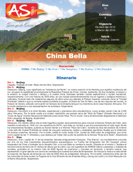 China Bella - AS Tours, México
