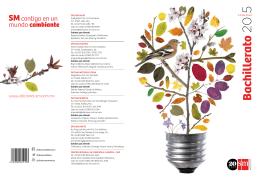 Catálogo 2015 Bachillerato