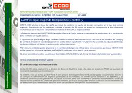 Remuneraciones Comités Dirección de las cuatro - Comfia-CCOO