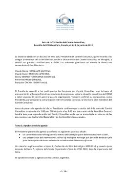 Address to ICOM Brazil