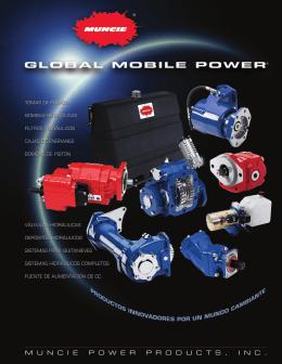 tomas de fuerza - Muncie Power Products
