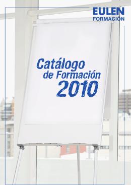 FOLLETO FORMACION PARA PRESENTACION PRODUCTOS