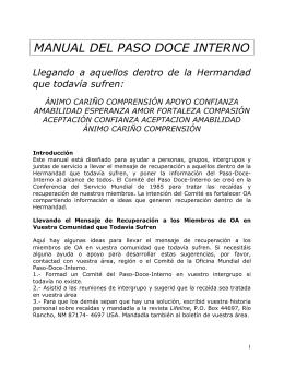 MANUAL DEL PASO DOCE INTERNO