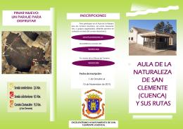 AULA DE LA NATURALEZA DE SAN CLEMENTE (CUENCA) Y