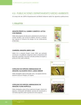 4.6. publicaciones departamento medio ambiente