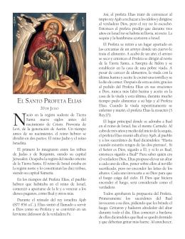 EL SANTO PROFETA ELíAS - Iglesia Católica Apostólica Ortodoxa
