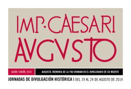 Descargar Actividades Bimilenario de Augusto. Programa completo