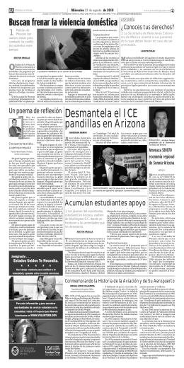 La SRE de México orienta a sus paisanos
