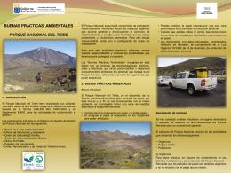 Para trabajadores del Parque Nacional
