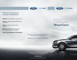 WearCare® - Ford Credit