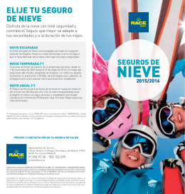 folleto nieve trip