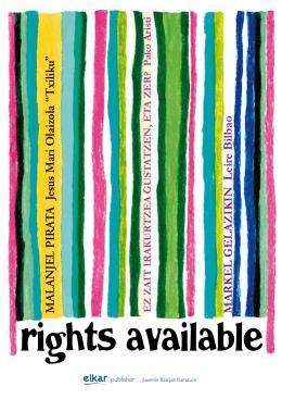 rights available - Elkar Argitaletxea