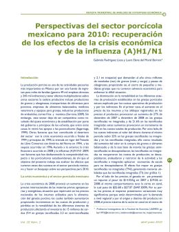 Perspectivas del sector porcícola mexicano para 2010