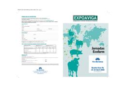 Jornadas Ecofarm