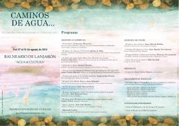 VII Curso multidisciplinar sobre la Cultura del agua