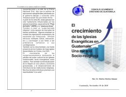 Crecimiento de Iglesias evangelicas en guatemala.pmd