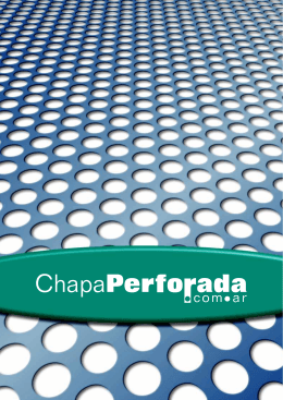 Folleto Chapa Perforada