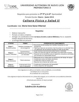 Cultura Física y Salud 2 3ª5ª6ª Op. E-J`14