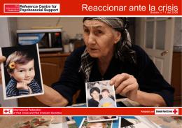 Reaccionar ante la crisis - Psychosocial Support IFRC