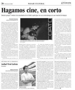 pagina 26. - La gaceta de la Universidad de Guadalajara