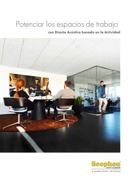 Potenciar los espacios de trabajo - con Diseño Acústico