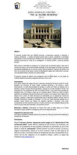 Folleto BASES GRALES CONCURSO MUNICIPAL