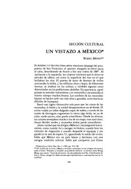 UN VISTAZO A MÉXICO* - El Colegio de México