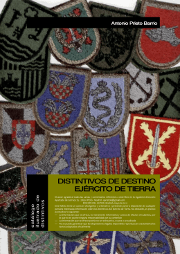 catalogo distintivos de destino