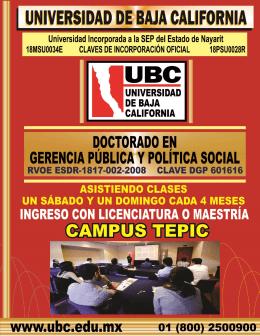 folleto informativo
