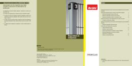 Folleto de Normativa de seguridad en máquinas Brühl