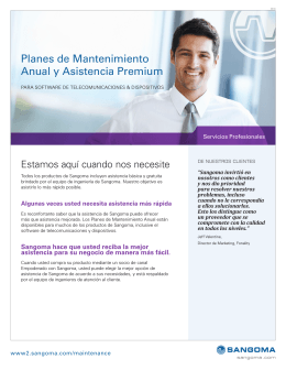 Planes de Mantenimiento Anual y Asistencia Premium