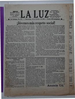 La Luz N271 29 de Octubre de 1961