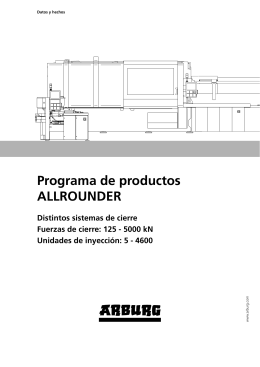 Programa de productos ALLROUNDER