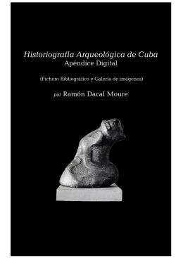 Historiografía Arqueológica de Cuba